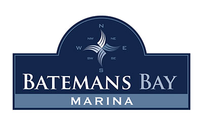 Batemans Bay Marina Logo - Sculpture on Clyde Major Partner