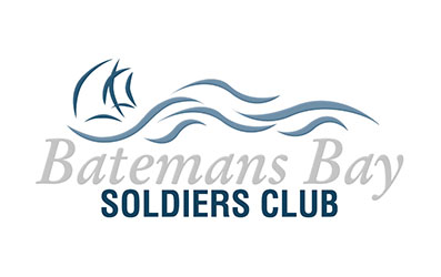 Batemans Bay Soldiers Club Logo - Sculpture on Clyde Major Partner