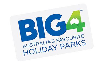 Big4 Logo - Sculpture on Clyde Major Partner