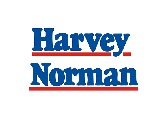 Harvey Norman Logo - Sculpture on Clyde Sponsor