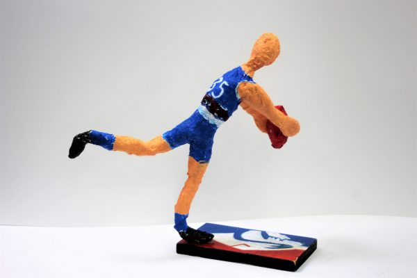 Jed Ware Heros and Icons Sculpture 1 - Caleb Daniel CC