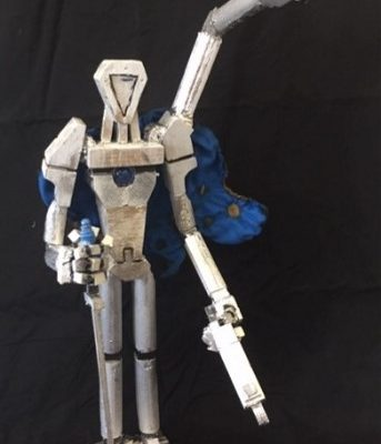 Robot view 2 - Baily McDermott Yr 11 St Peters