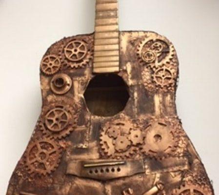 Tech-no-guitar - Liam Howett Yr 12 St Peters