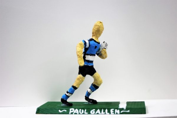 Will Dallas Heros and Icons sculpture (Paul Gallen)